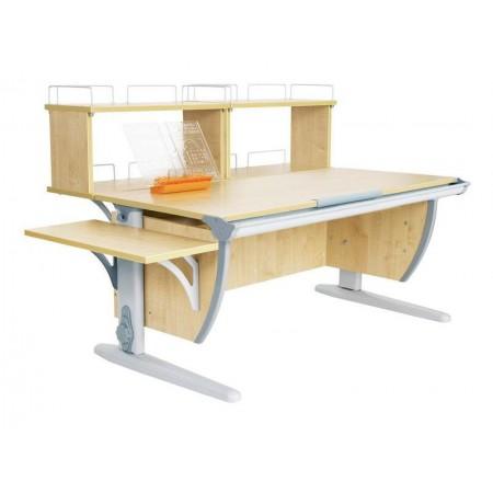 Парта Дэми СУТ 15-02Д2 (парта 120 см+две двухъярусные задние приставки+боковая приставка), ДЭМИ Мебель