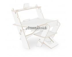 Комплект детской растущей мебели Конструктор 3в1