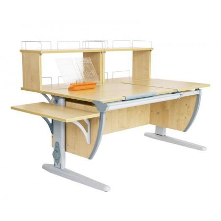 Парта Дэми СУТ 17-02Д2 (парта 120 см+две задние двухъярусные приставки+боковая приставка), ДЭМИ Мебель