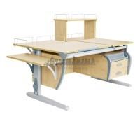 Парта Дэми СУТ 17-05Д (парта 120 см+задняя приставка+двухъярусная задняя приставка+боковая приставка+подвесная тумба)