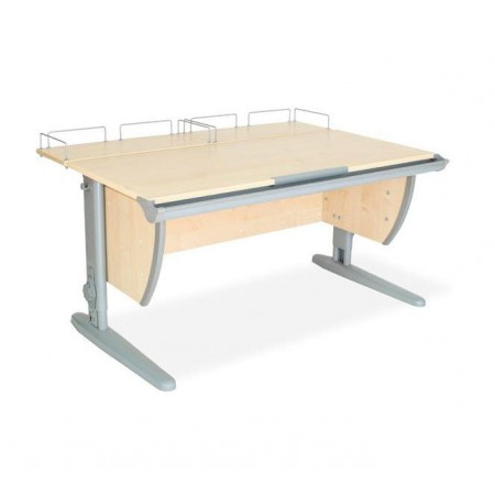 Парта ДЭМИ СУТ-15-01 120х55 см + 2 задние приставки, ДЭМИ Мебель