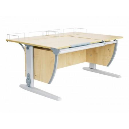 Парта ДЭМИ СУТ-17-01 120х80 см + 2 задних приставки, ДЭМИ Мебель