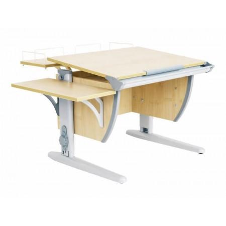 Парта ДЭМИ СУТ-14-02 75х55 см + задняя и боковая приставки, ДЭМИ Мебель