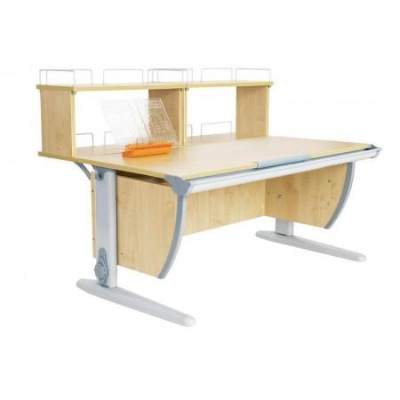 Парта Дэми СУТ 15-01Д2 (парта 120 см+две двухъярусные задние приставки), ДЭМИ Мебель
