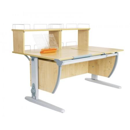 Парта Дэми СУТ 17-01Д2 (парта 120 см+две задние двухъярусные приставки), ДЭМИ Мебель