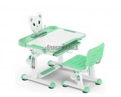 Детская парта с регулировкой высоты и стулом Mealux BD-04 XL (EVO-04 XL new)