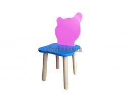 Детский стульчик Джери Розово-голубой
