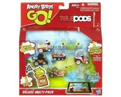Набор 5 машинок и Свинка - Angry Birds Go Telepods Deluxe Multi-Pack