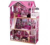 Кукольный домик для Барби - с мебелью Амелия