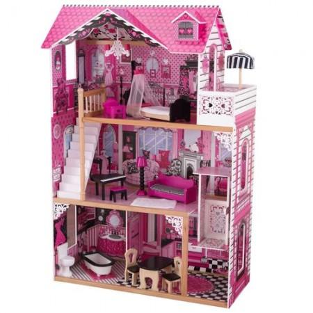 Кукольный домик для Барби - с мебелью Амелия, KidKraft