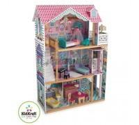 Трехэтажный дом для кукол Барби Аннабель - Annabelle с мебелью 17 элементов