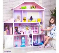 Домик для Барби - Фантазия гараж лифт лестница мебель