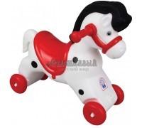 Качалка-каталка Лошадь с музыкальной панелью