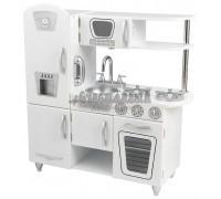 """Детская игрушечная кухня из дерева """"Винтаж"""", цвет Белый (White Vintage Kitchen)"""