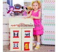 """Игрушечный кукольный домик """"София"""" с 15 предметами мебели"""