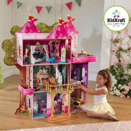 Дом для кукол Ever After High - Книга Сказок Storybook с мебелью, KidKraft