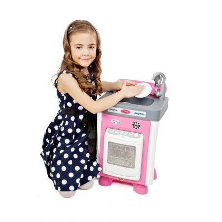 Набор Carmen №1 с посудомоечной машиной (в пакете) (со звуком и каплями воды), Coloma Y Pastor