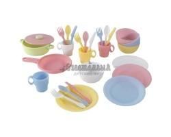 Кухонный игровой набор посуды Пастель (Pastel)