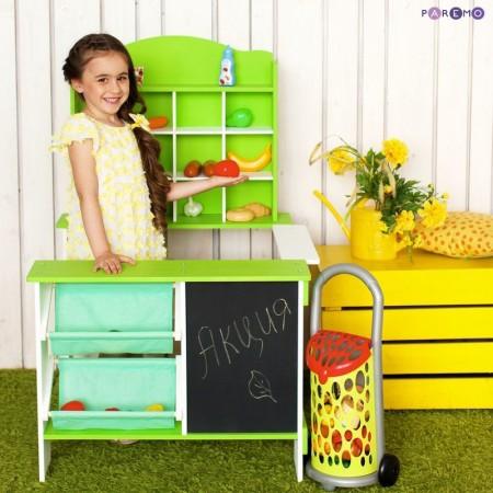 6905, Игрушечный магазин, цв. салатовый, PRT116-01, 7999ք, 6905-01, PAREMO, Магазины и покупки