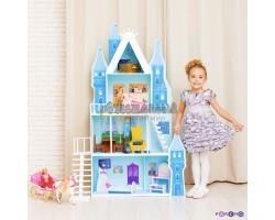 Кукольный дворец - Горный хрусталь с 16 предметами мебели и текстилем
