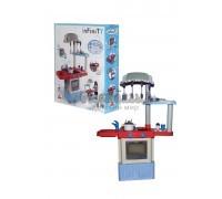 4355, Набор игрушечной кухни Infinity premium №3 (в коробке) (со звуком и каплями воды (конденсат)), 42354_PLS, 3750ք, 4355-01, Coloma Y Pastor, Пластиковые кухни
