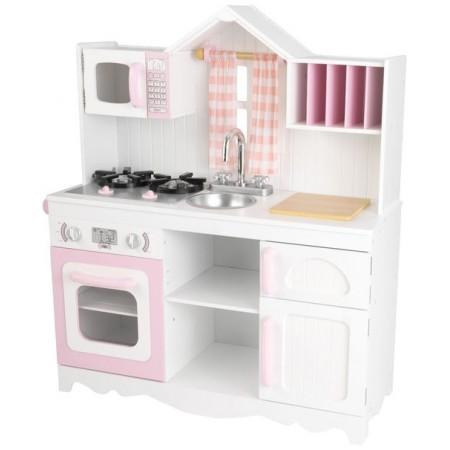 """4335, Игровая кухня для девочки из дерева Модерн"""" (Modern Country Kitchen)"""", 53222_KE, 25760ք, 4335-01, KidKraft, Деревянные кухни"""