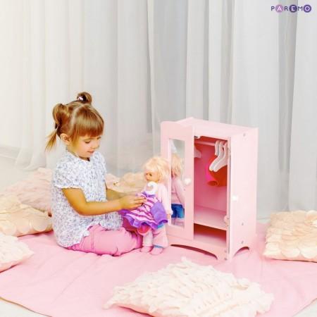 6896, Кукольный шкаф, цвет Розовый, PFD116-07, 4000ք, 6896-01, PAREMO, Аксессуары для кукол