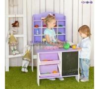 6906, Игрушечный магазин, цв. фиолетовый, PRT116, 8000ք, 6906-01, PAREMO, Магазины и покупки