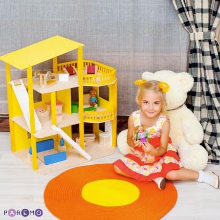 """6887, Домик из дерева Солнечная Ривьера"""" с мебелью 21 предмет"""", PD216-01, 7600ք, 6887-01, PAREMO, Домики для мини-кукол (12 см)"""