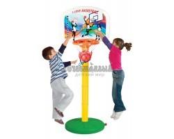 Баскетбольное кольцо, регулируемое по высоте