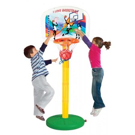 5057, Баскетбольное кольцо, регулируемое по высоте, 3398plsn, 4030ք, 5057-01, PILSAN, Игрушки для улицы