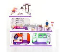 Коттедж для кукол Конфетти без мебели