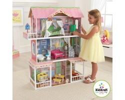 Деревянный дом для Барби - Карамельная Саванна Sweet Savannah с мебелью