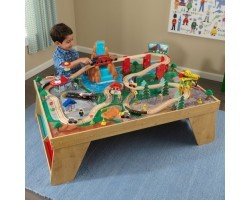 "Игровой набор ""ЖД станция"" (Waterfall Station Train Set & Table In Natural)"