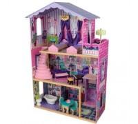 Деревянный домик Барби - Особняк мечты My Dream Mansion с мебелью 13 элементов