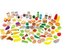 """Набор еды """"Вкусное удовольствие"""", 115 элементов, KidKraft"""