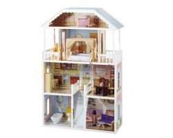 Кукольный домик для Барби - Саванна Savannah с мебелью 14 элементов