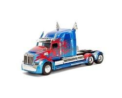 Машинка металлическая Transformers Optimus Prime