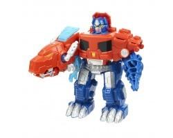 Робот - трансформер Оптимус Прайм - Динозавр Красный