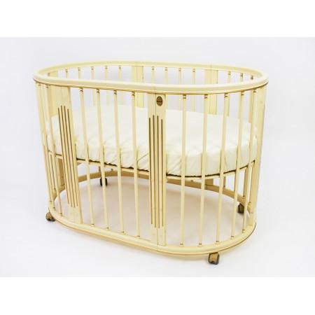 Кроватка-трансформер -  Magic Dream 6 в 1 Ампир Слоновая кость, Royal-Baby