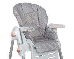 Съемный чехол Полосатик на стульчик для кормления (водостойкое покрытие)