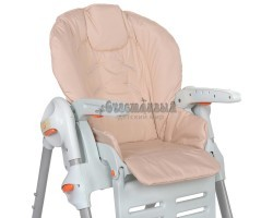 Съемный чехол Персик на стульчик для кормления (водостойкое покрытие)