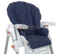 Чехол на детский стульчик для кормления Джинс