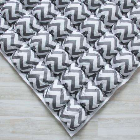 17412, Игровой коврик Бомбон Grey Zigzag, vv020233, 5490ք, 17412-, VamVigvam, Детские ковры
