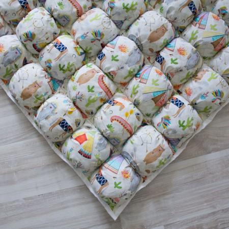 17434, Игровой коврик Бомбон Native Party, vv020242, 7490ք, 17434-, VamVigvam, Детские ковры