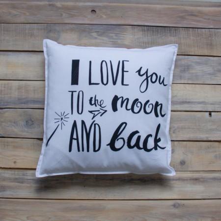 17486, Декоративная подушка I Love You, , 1190ք, 17486-, VamVigvam, Декоративные подушки