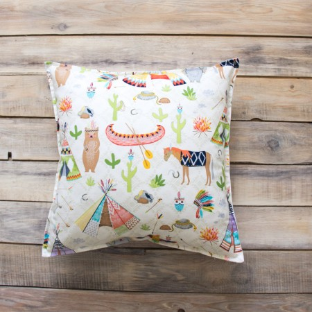 17485, Декоративная подушка Native Party, vv030142, 1490ք, 17485-, VamVigvam, Декоративные подушки