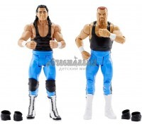 WWE Bret Hart and Jim Neidhart Action Series 47 Figure, 2 Pack, Mattel
