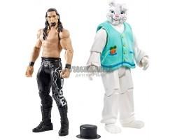 Набор из 2 фигурок Адам Роуз и Кролик - Adam Rose & Bunny WWE, Mattel