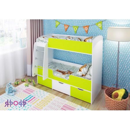Кровать двухъярусная «Малыш Двойняшка», Ярофф
